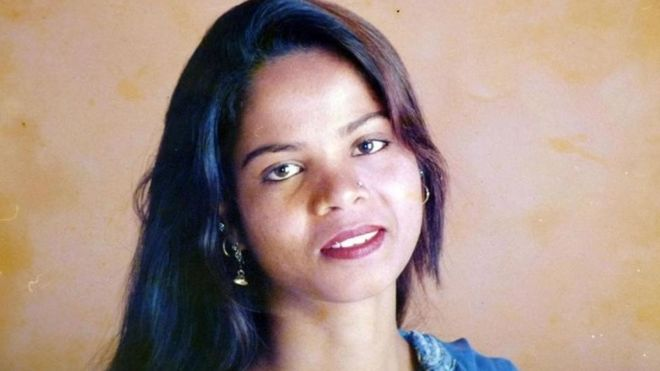 Asia Bibi, in an undated handout photo