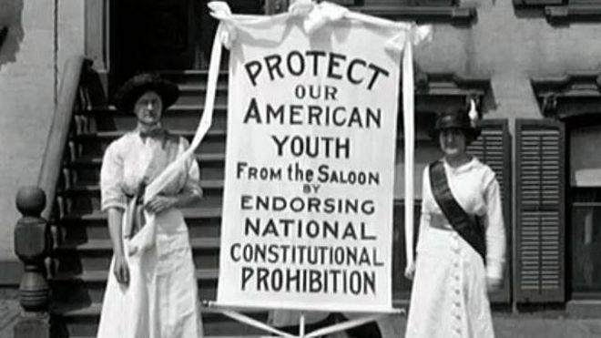 Activistas contra el licor de 1913