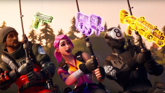 Fortnite Chapter 2 First Glimpse Of New Season After Map