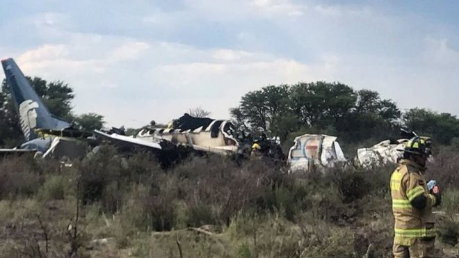 Dozens injured in Aeromexico crash, but all survive