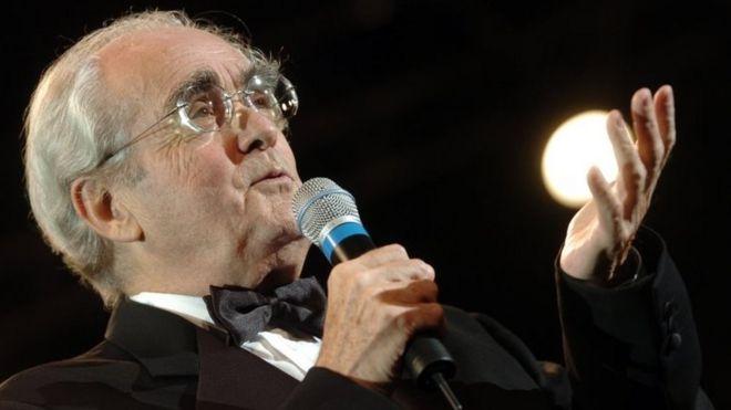 Michel Legrand. Photo: October 2004