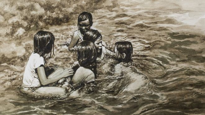 Filipino Artists Get Dirty To Highlight Pollution In