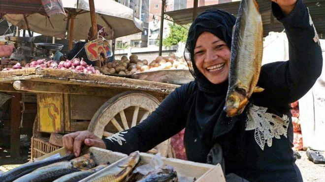 Mısırlıların özel yemeği fesik: kokuşmuş ve mayalı balık