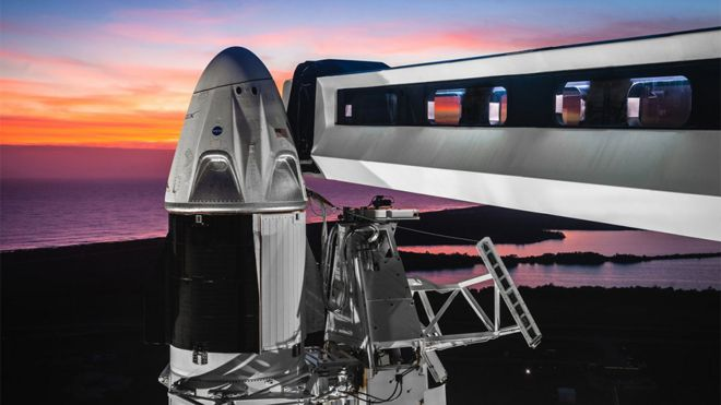 SpaceX successfully launches Crew Dragon