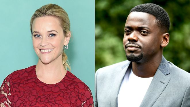 《逃出绝命镇》的男女主角丹尼尔·卡卢亚(Daniel Kaluuya)和瑞茜·威瑟斯彭(Reese Witherspoon)均获提名