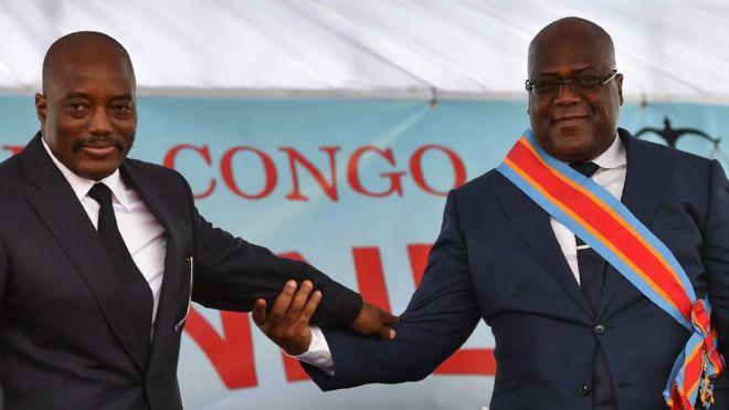 Felix Tshisekedi, et son prédécesseur Joseph Kabila ont accepté de former un gouvernement de coalition.