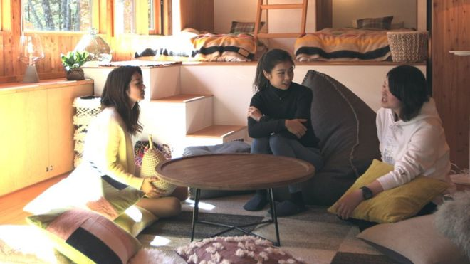 Terrace House: Japan's nice, calm Love Island antidote - BBC