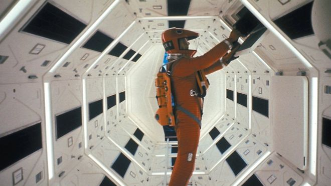 Space Odyssey helps launch first 8K TV channel - BBC News