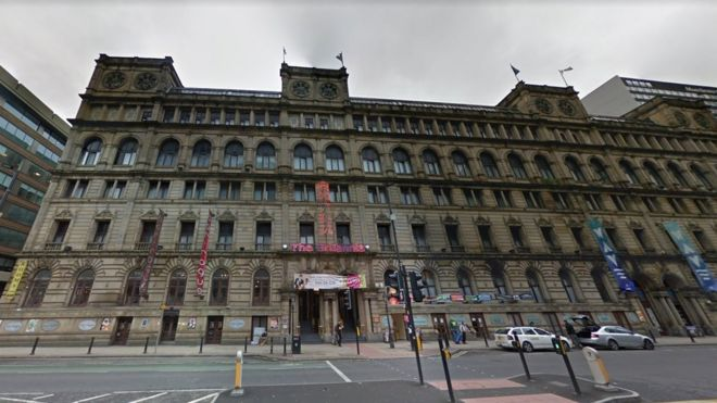Two Dead At Manchester S Britannia Hotel Bbc News
