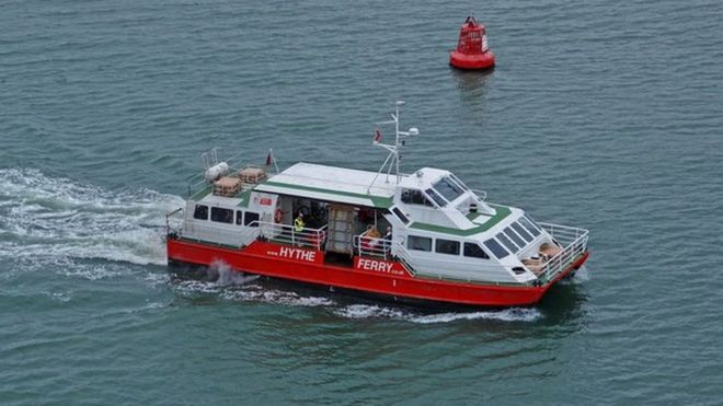 hythe ferry county council funding cut bbc news