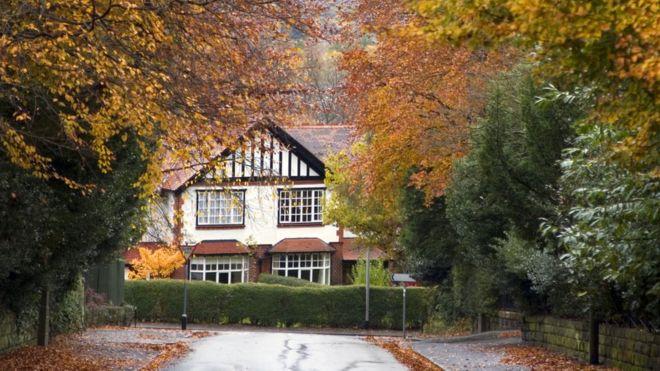 house in Autumn