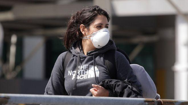 Mujer en Buenos Aires