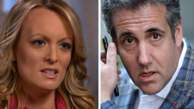 Michael Cohen: Trump's Lawyer To Plead Fifth Amendment In Daniels Case