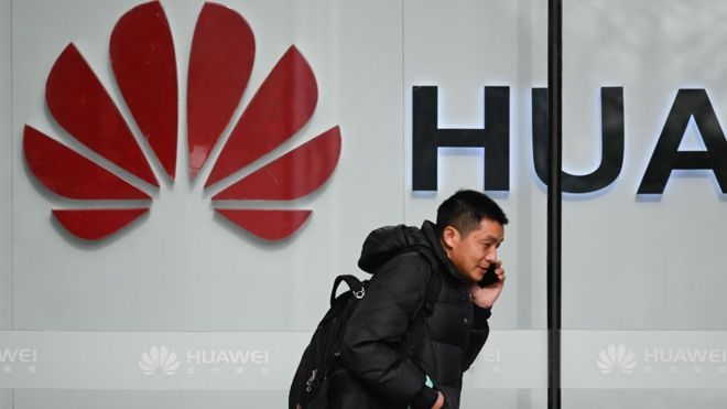 Denmark expels two Huawei staff after inspecting permits - BBC News