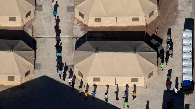 ارتش آمریکا برای ساخت اردوگاه بازداشت مهاجران 'برنامه دارد'