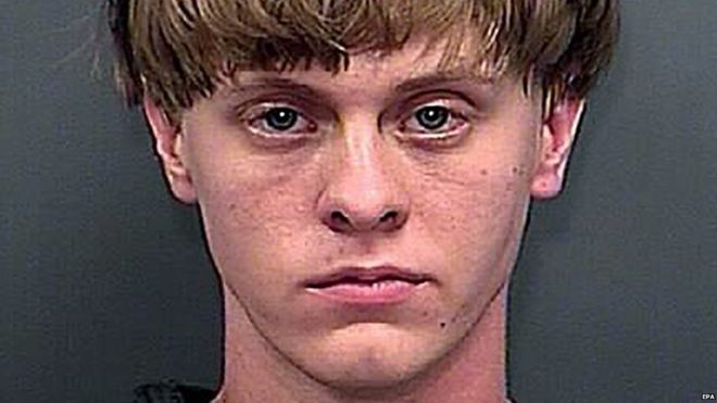 Dylann Roof booking photo