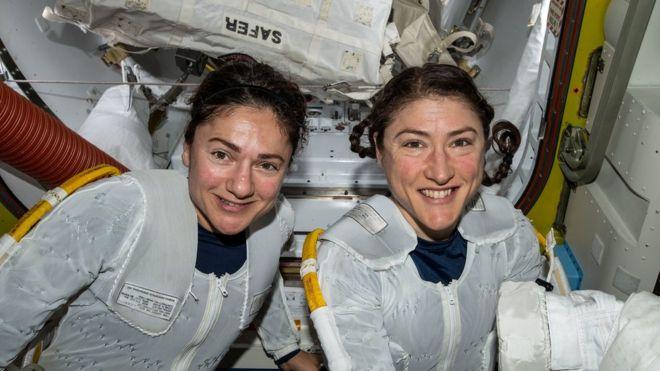 杰西卡·迈尔(左)和克里斯蒂娜·科克