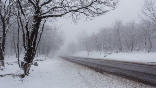 Dağlıq ərazilərdə qar yağıb: Faktiki hava