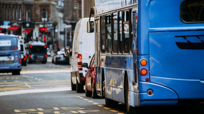 Older Cars Face Glasgow City Centre Ban Bbc News