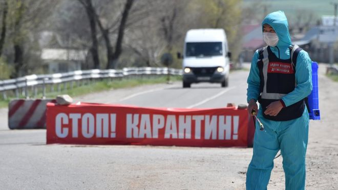 Кыргызстан ужесточает карантинные меры