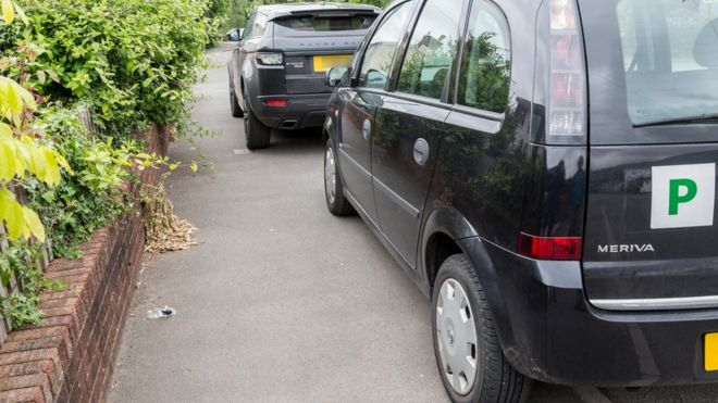Should the UK ban parking on pavements? - BBC News