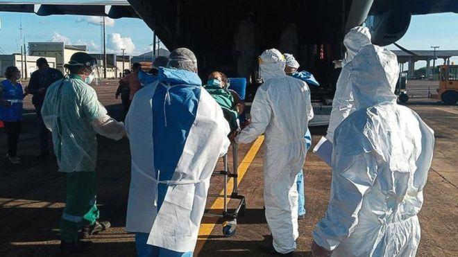 Paciente de Rondônia é transferido em avião da FAB