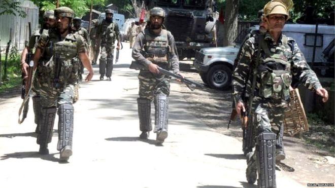 सुरक्षाबल कश्मीर
