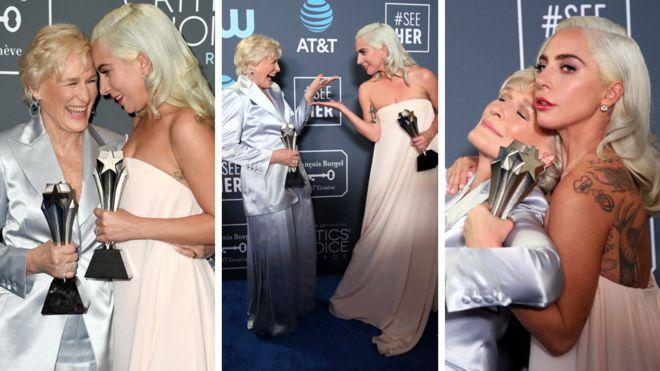 Critics Choice Horse Heartbreak For Lady Gaga Follows Award Win