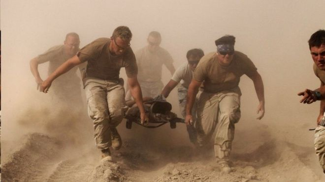 القوات الغربية موجودة في أفغانستان منذ عام 2001