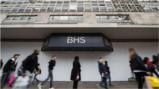 PwC partner banned over BHS audit - BBC News