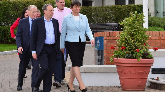 fc4042dcd5 DUP deals and dialogue  where are we now  - BBC News