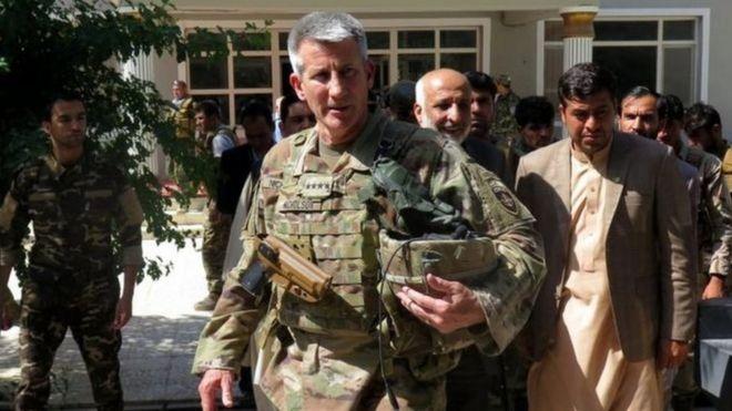 نیکلسون: حضور داعش محدود به کوههای دوردست ننگرهار شده