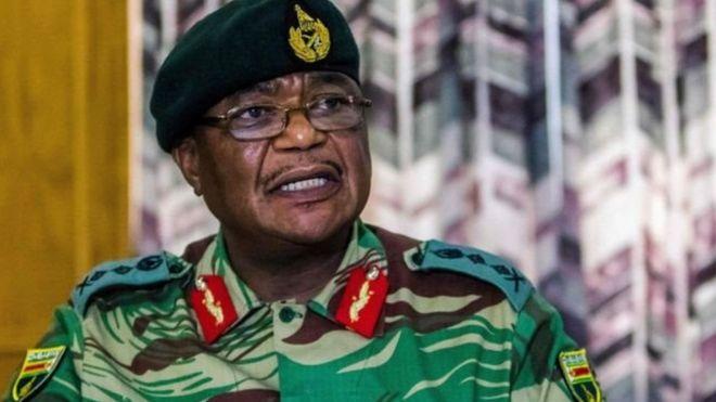 kamanda mkuu wa jeshi nchini Zimbabwe Jenerali Constantino Chiwenga