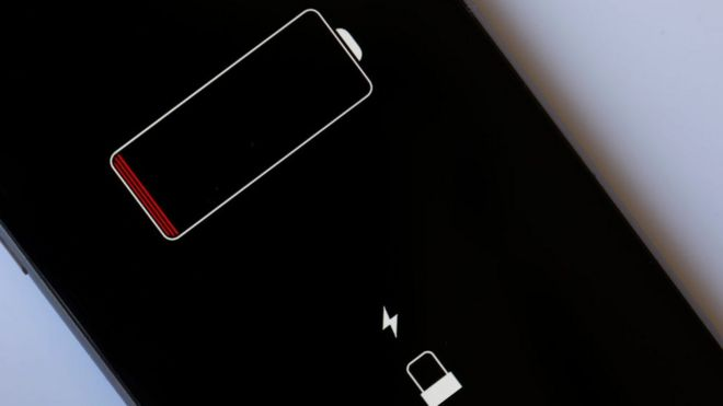 Celular sin batería