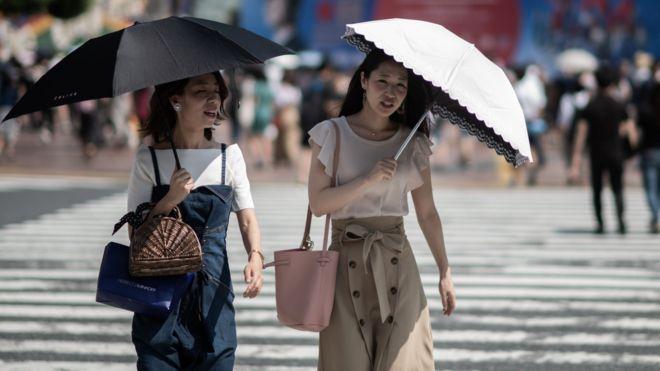 موج گرما در ژاپن فاجعه طبیعی اعلام شد