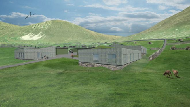 Remote St Kilda military site to be redeveloped - BBC News