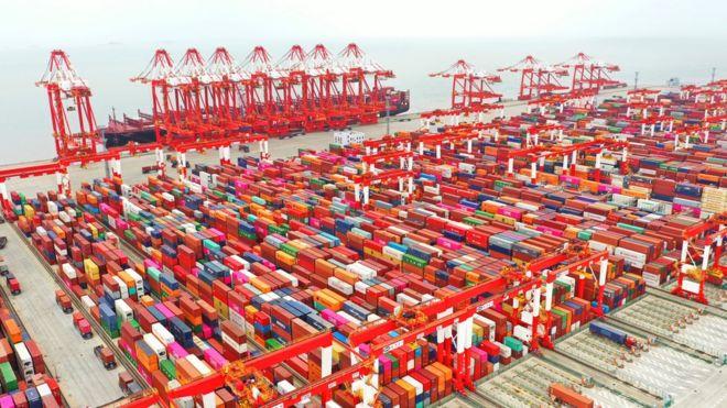 Yangshan Deepwater Port in Shanghai