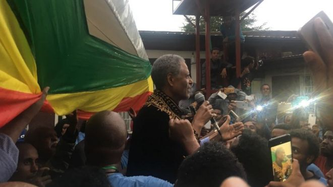 Ethiopia's Ginbot 7 opposition movement suspends armed resistance
