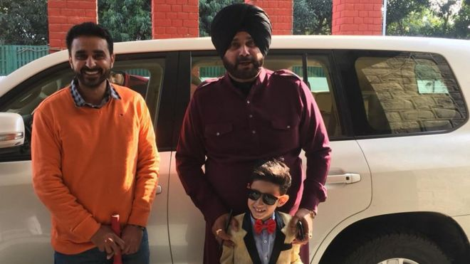 Waris Dhillon's father, Waris Dhillon and Navjot Singh Sidhu