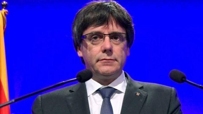 Rais wa Catalonia Carles Pugdemont