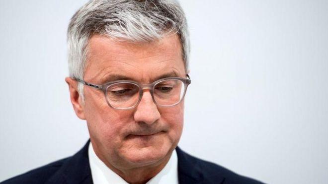 "Глава концерна Audi арестован из-за ""дизельгейта"""