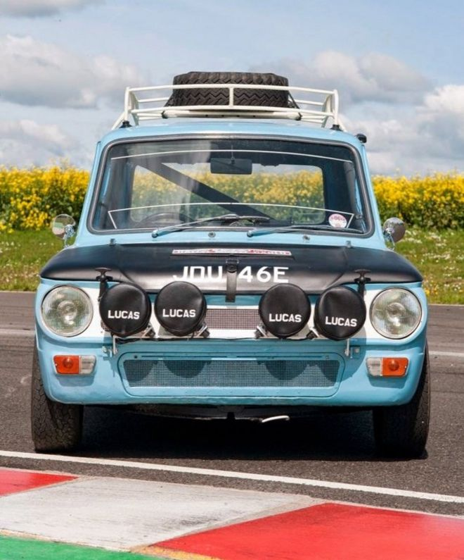 Monte Carlo Hillman Imp rally car fails to sell - BBC News