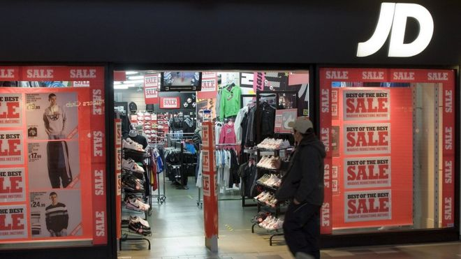 How JD Sports became a £5bn company - BBC News bb2db196cf16