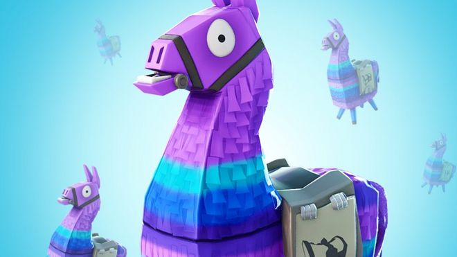 Fortnite Loot Box Llamas Go See Through Bbc News