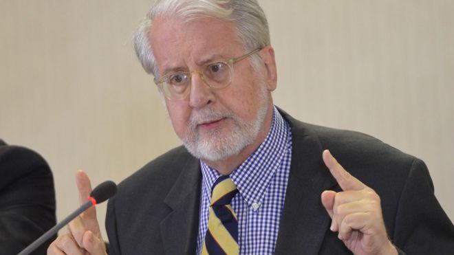 O diplomata Paulo Sergio Pinheiro