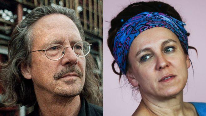 Ольга Токарчук и Петер Хандке удостоены Нобелевской премии по литературе