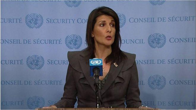سفیر آمریکا روسیه را به کمک به کره شمالی برای دور زدن تحریم ها متهم کرد