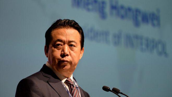 孟宏伟自2016年开始担任国际刑警组织主席。