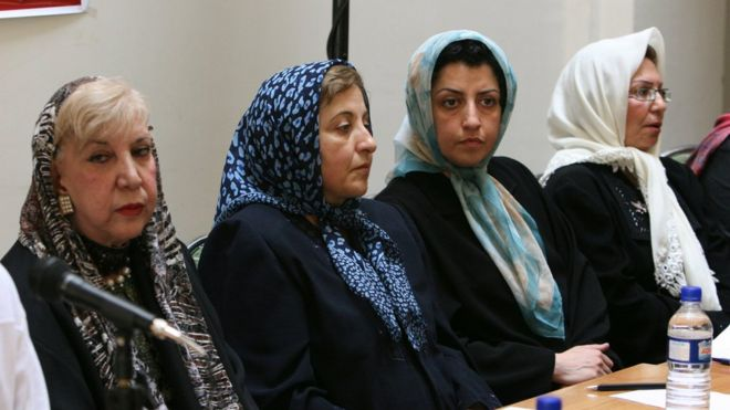 Iran condemned by UN over activist prison sentence - BBC News
