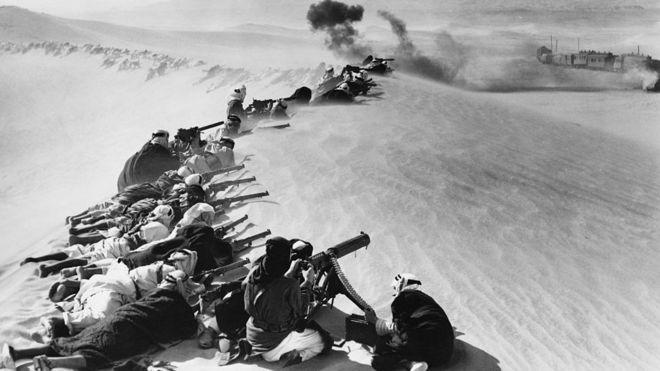 100 عام على الحرب العالمية الأولى: آلاف الأتراك كانوا أسرى في معارك شبه الجزيرة العربية _104298604_gettyimages-526898430